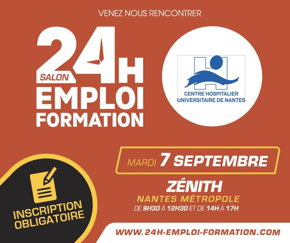 24H pour l'Emploi et la Formation à Nantes