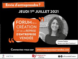 Forum de la création & de la Reprise d'entreprise Vendée