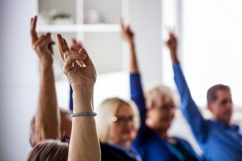 Reprise des activités pour l'association Retraite Active